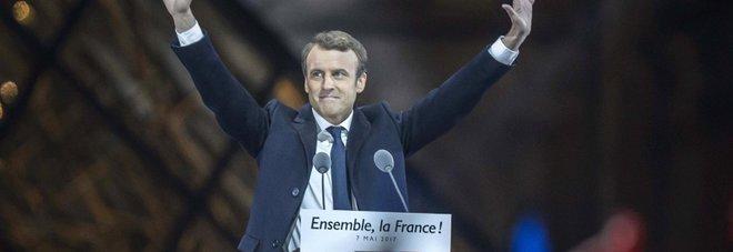 Francia, Macron: «Si apre una nuova pagina di speranza. Difenderò l'Europa»