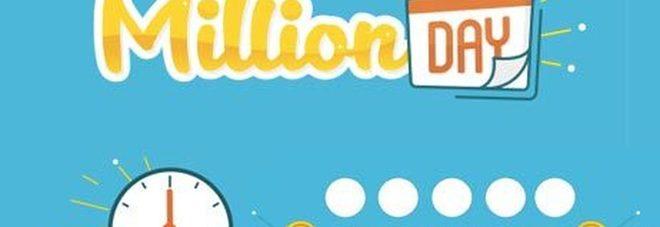 Million Day, diretta estrazione di oggi martedì 12 febbraio 2019: i numeri vincenti