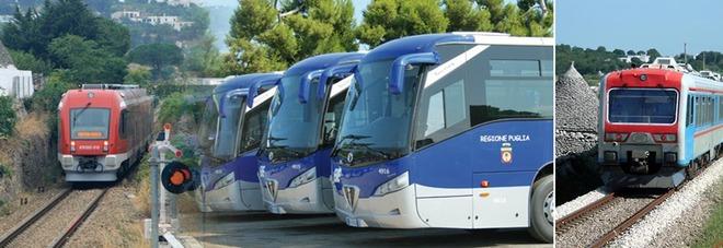Treni e autobus, ecco il piano della circolazione predisposto da Ferrovie Sud Est