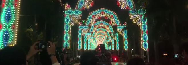 Sorpresa a Taiwan: nel cielo brillano le luminarie De Cagna