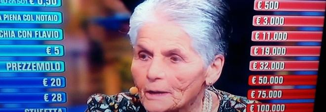 Agnese l'87enne di Montefalco