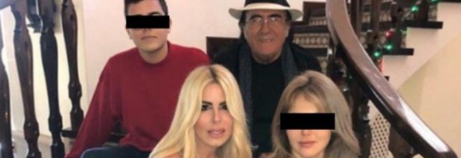 Loredana Lecciso posta la foto di Natale con Al Bano e i due figli, Romina Power reagisce così
