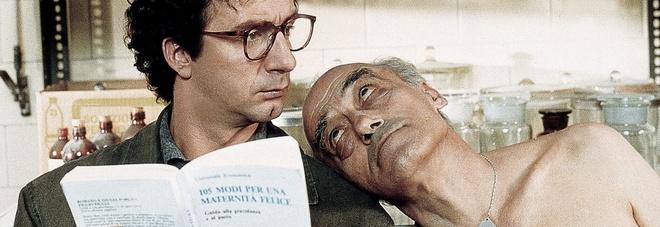 Novello Novelli con Francesco Nuti