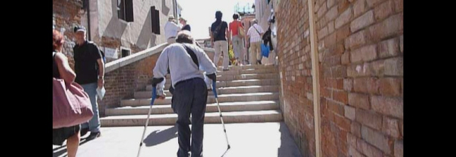 Reportage: barriere architettoniche a Venezia