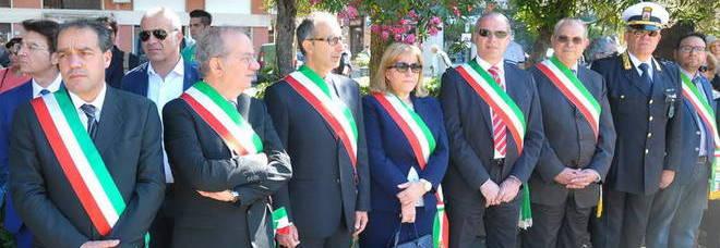 Lecce, la cerimonia del 2 giugno (Foto Longo)