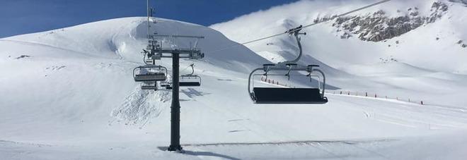 Piste riaperte a Campo Imperatore: 50 euro per sciare tre giorni sotto le festività di Pasqua