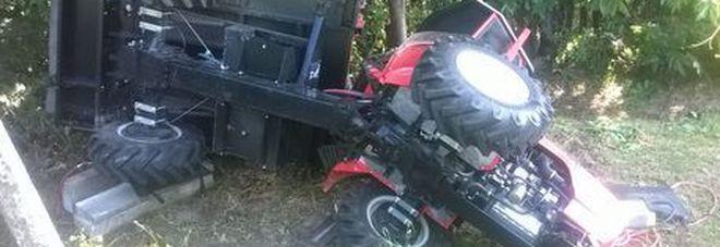 Cuneo, bimbo di 6 anni muore travolto da trattore del nonno