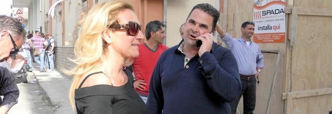 Ex sindaco e vicesindaco di Gallipoli il giorno della vittoria alle elezioni