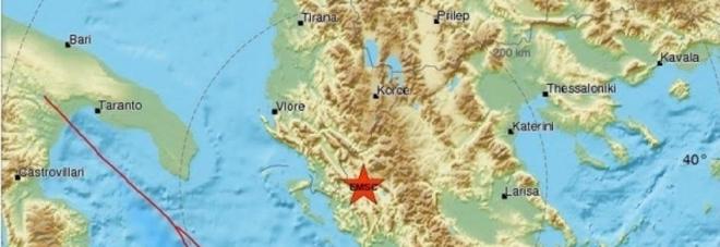 Nuova scossa di terremoto avvertita nelle province di Lecce, Brindisi e Taranto