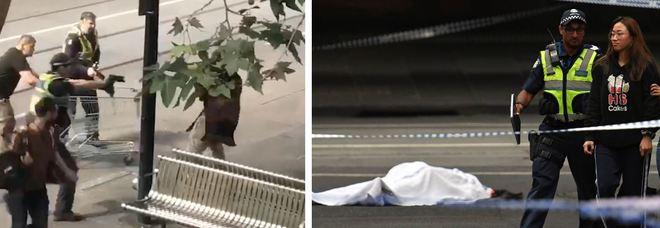 Terrore a Melbourne: uomo fa esplodere auto e accoltella due passanti prima di essere ucciso dalla polizia Video