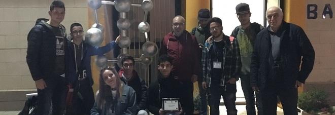 """Gli alunni del """"Giorgi"""" campioni di robotica"""