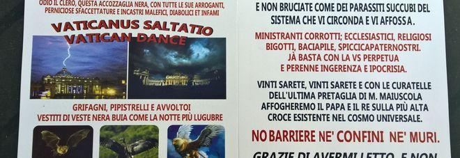 Manifesti contro il Papa al santuario della Grottella: è giallo