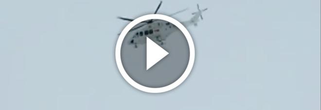 Elicottero precipitato, gli ultimi istanti prima dello schianto -Guarda