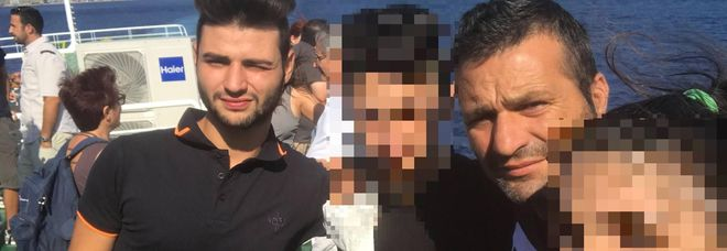 Gabriele Cosma e il padre, Dario