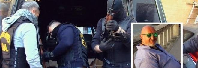 Roma, droga e armi della 'ndrangheta: 18 arresti, anche capo ultrà Lazio