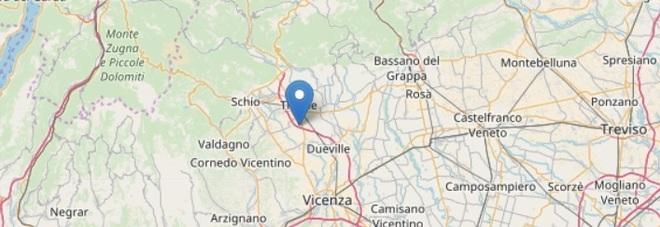 La terra trema al Nord. Terremoto alle 20.31 nella zona del Vicentino