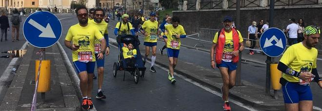 A Roma la maratona del cuore: i Runner's corrono per il piccolo Gabriele