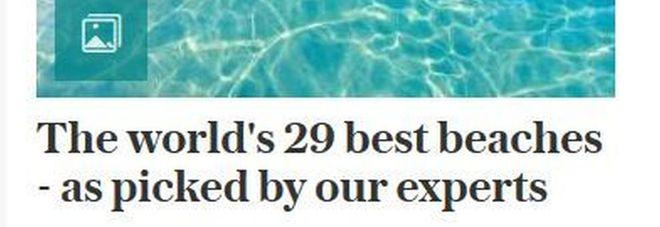 Sorpresa Telegraph: tra Miami e le Havaii, Punta Prosciutto tra le spiagge top al mondo