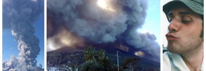 Eruzione a Stromboli, turisti in mare: pioggia di lapilli, possibili evacuazioni DIRETTA