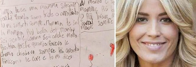 Elena Santarelli, la lettera del figlio Giacomo: «Sei una mamma speciale»