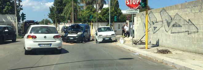 L'incidente in via Giammatteo