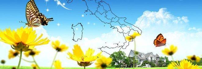 Arriva la primavera: sole e caldo, temperature oltre i 20° Le previsioni