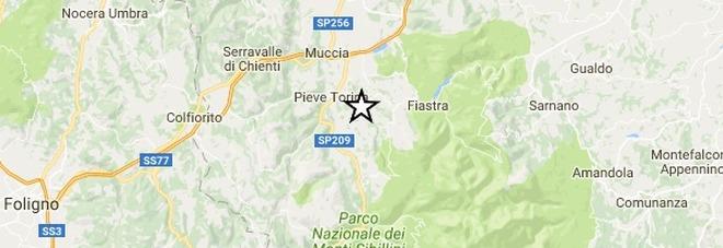 Terremoto di 3.5 in provincia di Macerata