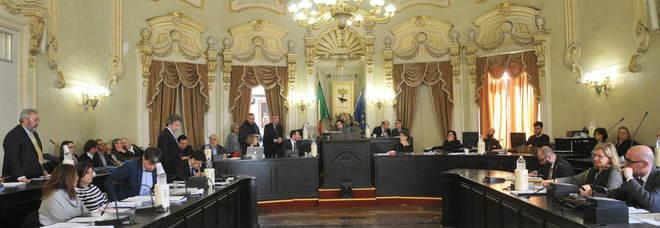 Il consiglio comunale a Palazzo Carafa