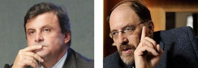 Carlo Calenda e James Kenneth Galbraith