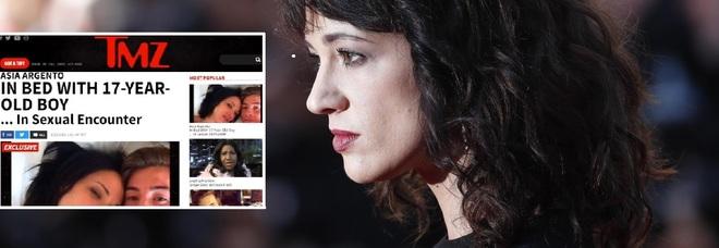 Asia Argento, spuntano selfie e sms: «Ho fatto sesso con Jimmy, lui era infatuato»