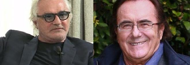 Flavio Briatore e Albano Carrisi