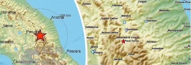 Terremoto, ancora scosse nel Maceratese: la più forte di magnitudo 3.4, poi alcune repliche