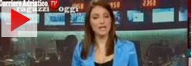 Laura Tangherlini nel video della gaffe
