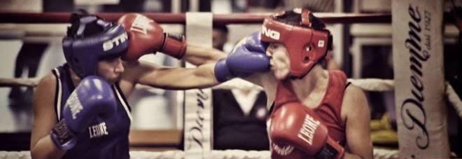Francesca Moro durante un combattimento