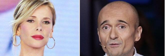 Alfonso Signorini da Chiambretti: «Ho delle foto hot del figlio di Alessia Marcuzzi». E lei in studio reagisce così