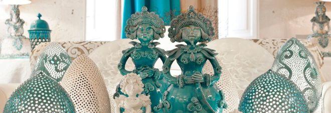 Le ceramiche della Bottega di Enza Fasano, a Grottaglie