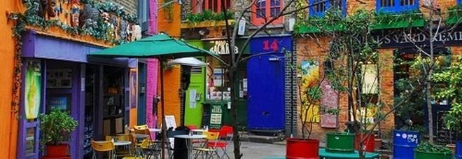 Neal's Yard a Covent Garden: nel cuore di Londra, un vicolo nascosto color arcobaleno