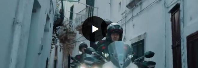 """Ducati sceglie Ostuni, la Multistrada 950 sfreccia nella """"città bianca"""""""