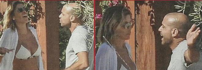 Aida Yespica litiga col fidanzato Matteo Cavalli a Mykonos
