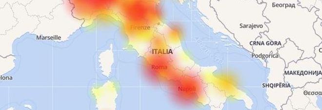 Problemi in tutta Italia per Tre: offline la connessione dati in mattinata
