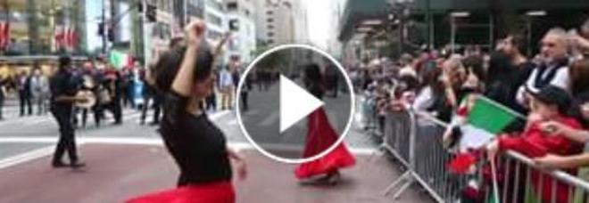Columbus Day: la Taranta porta la pizzica per le vie di New York
