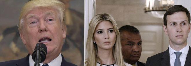 Russiagate, Trump ammette: «Sono indagato da chi mi disse di licenziare l'ex capo Fbi Comey» Sotto inchiesta anche Kushner