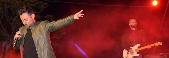 Enzo Petrachi sul palco