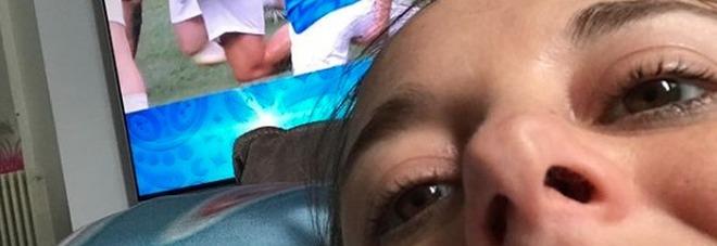 "Nadia Toffa, selfie ""mondiale"" su Instagram: senza volere immortala un dettaglio esilarante"