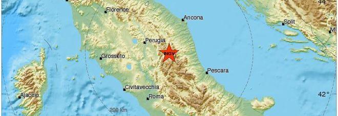Terremoto, lievi scosse nella notte in Centro Italia e in Calabria