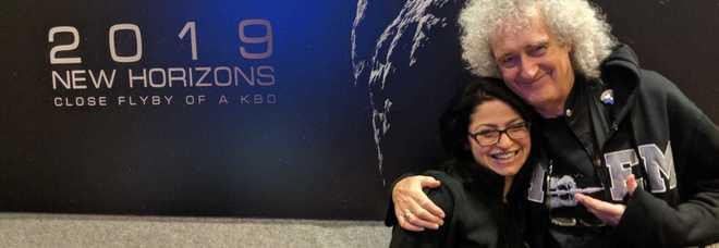 Silvia, una salentina nella missione a Ultima Thule con colonna sonora dell'ex Queen Brian May