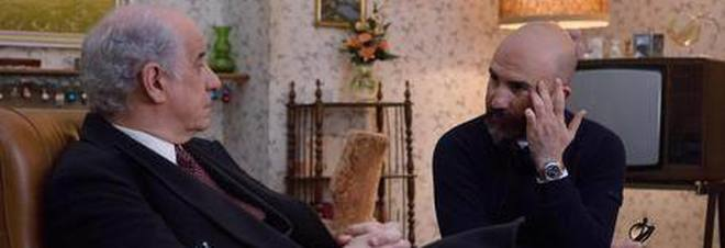 """Toni Servillo e Donato Carrisi sul set de """"La ragazza nella nebbia"""""""