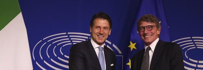 Sassoli vede Conte, Ue più forte con contributo Italia