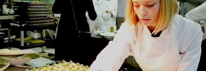 Isabella protagonista al Gastronomy Festival di Parma. Salentina, è tra le 10 donne più influenti della cucina italiana