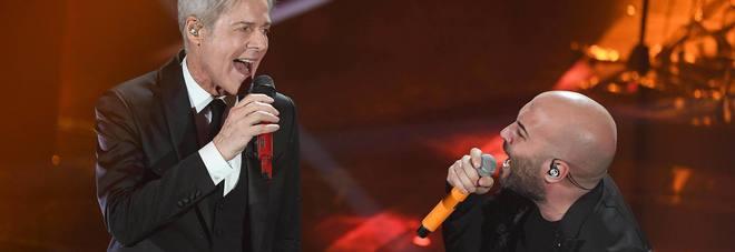 Negramaro show: il duetto con Baglioni incanta l'Ariston